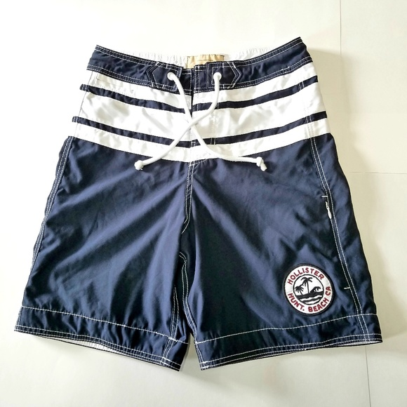 ad86126067e8d Hollister Other - Hollister Mens Board Shorts, XS, blue/white